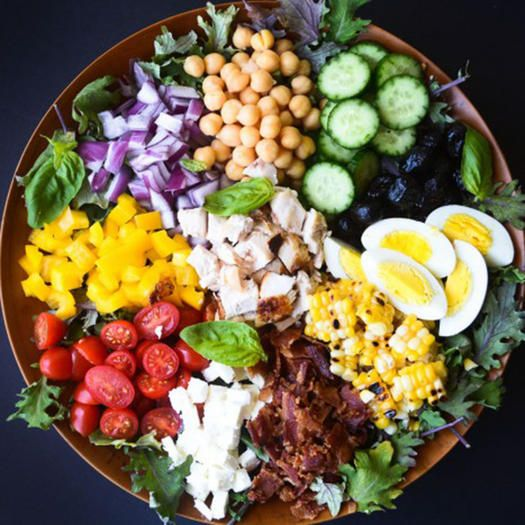 Giant Dinner-Worthy Salads for a Satisfying Macro Meal - Shape.com