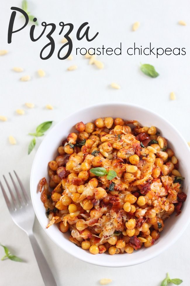 Pizza roasted chickpeas
