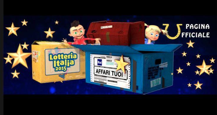 Biglietti vincenti della Lotteria Italia 2015: estratti i numeri dei biglietti vincenti della Lotteria Italia durante lo Speciale di Affari Tuoi La Lotteria.