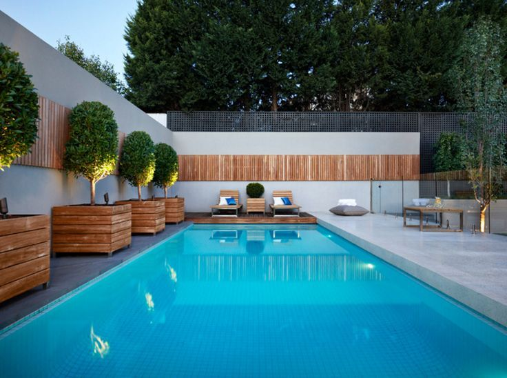 20 Gorgeous Planters By The Swimming Pool Resort Style Pool Backyard Pool Luxury Swimming Pools