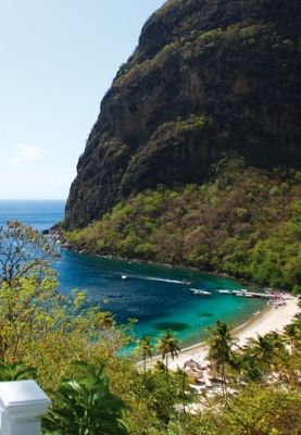 Iconic island views at every turn. St.Lucia