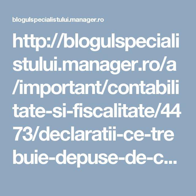 http://blogulspecialistului.manager.ro/a/important/contabilitate-si-fiscalitate/4473/declaratii-ce-trebuie-depuse-de-catre-asociatiile-non-profit.html