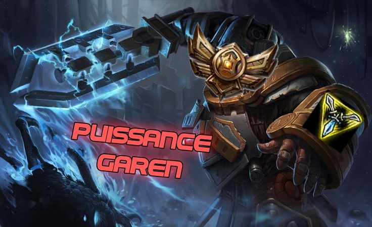 League of Legends : INCROYABLE !! Les tréfonds du Bronze avec Garen !