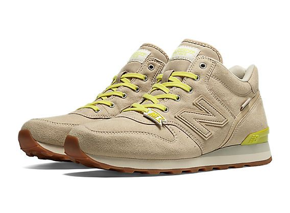 My new ones! New Balance 996 - Beige with Neon Yellow