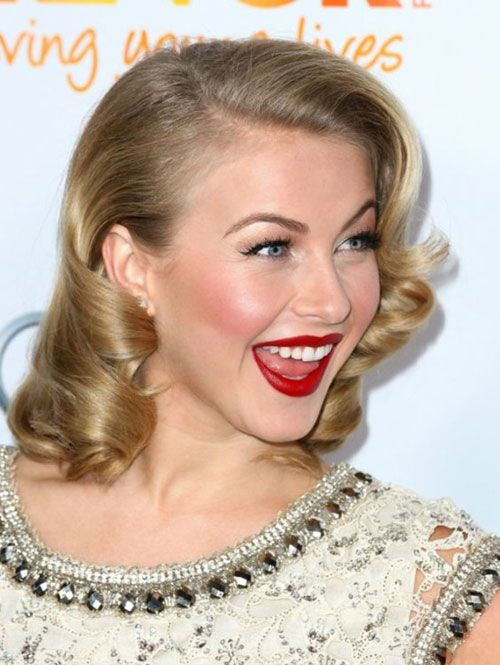 30 Marvelous Old Hollywood Hairstyles | CreativeFan  Prom. Possibly. If my hair will do it lol