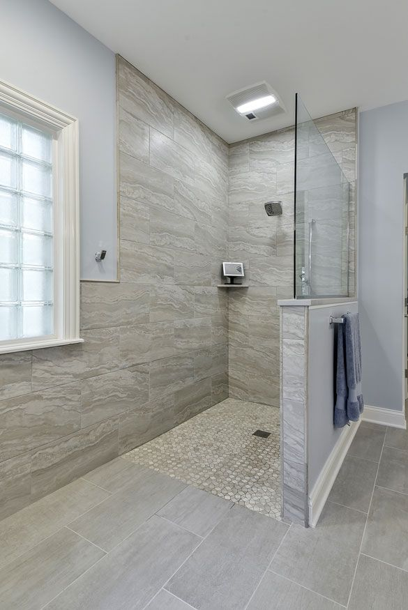 Barrier Free Shower Curbless Shower Design Ideas Pictures