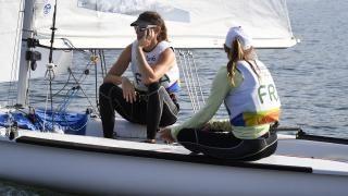Camille Lecointre et Hélène Defrance médaillées de bronze