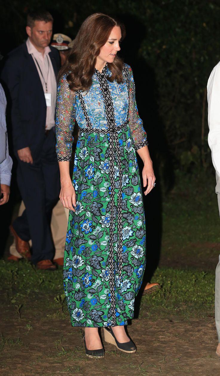 11 best kate Middleton fashion Bhutan images on Pinterest | Duchess ...