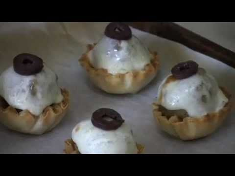 Mary Constantine shows you how to make Halloween eyeballs, a perfect appetizer for any Halloween party. This video recipe is part of a collection of recipes ...