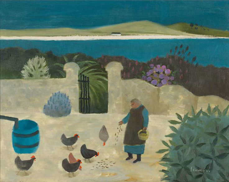 MARY FEDDEN  The Garden, West Cork (2001)