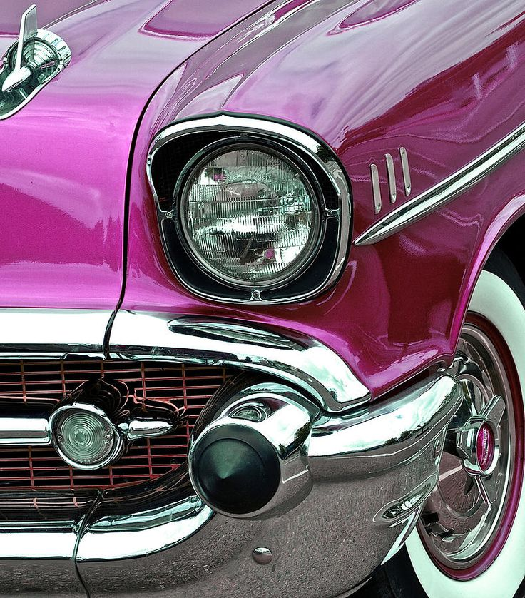 Cherry '57 Chevy. QuirkyRides.com #coolcars.