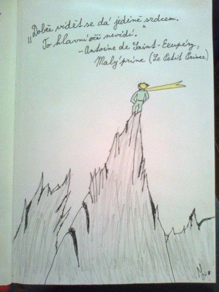 Malý princ (The Little Prince - original title: Le Petit Prince) by Antoine de Saint-Exupéry