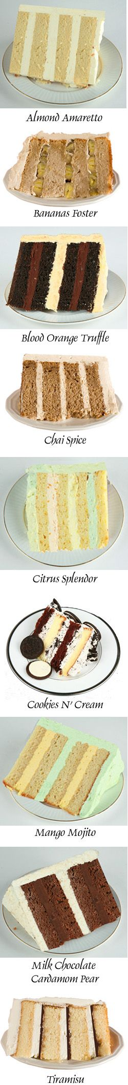 Good ideas for cake flavors