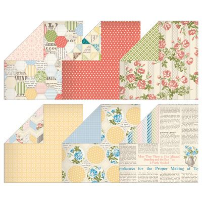Tea for Two Designer Series Paper: