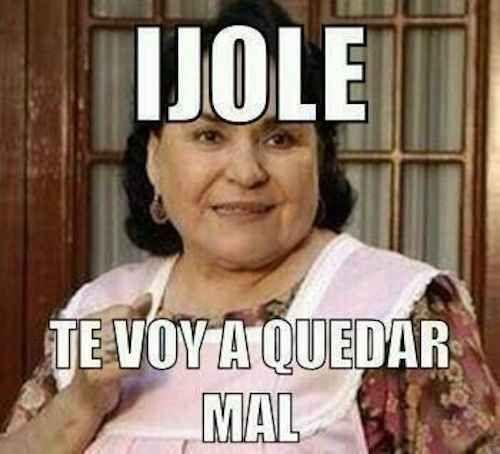Cuando le tengas que cancelar a alguien: | 17 Memes de Carmen Salinas que puedes usar para cualquier ocasión