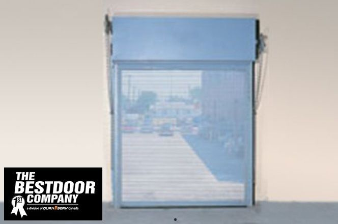 Wayne Dalton Secur Vent Ventilated Rolling Steel Service Door Rolling Steel Doors Polyurethane Insulation Commercial