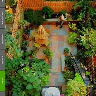nice tile colours - Matchstick Tile Garden Decoration