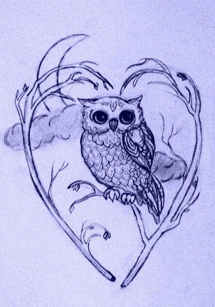matching owl  tattoos | Matching Owls tattoos by *joshing88 on deviantART