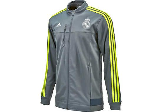 adidas Real Madrid Anthem Jacket - Deepest Space and Yellow