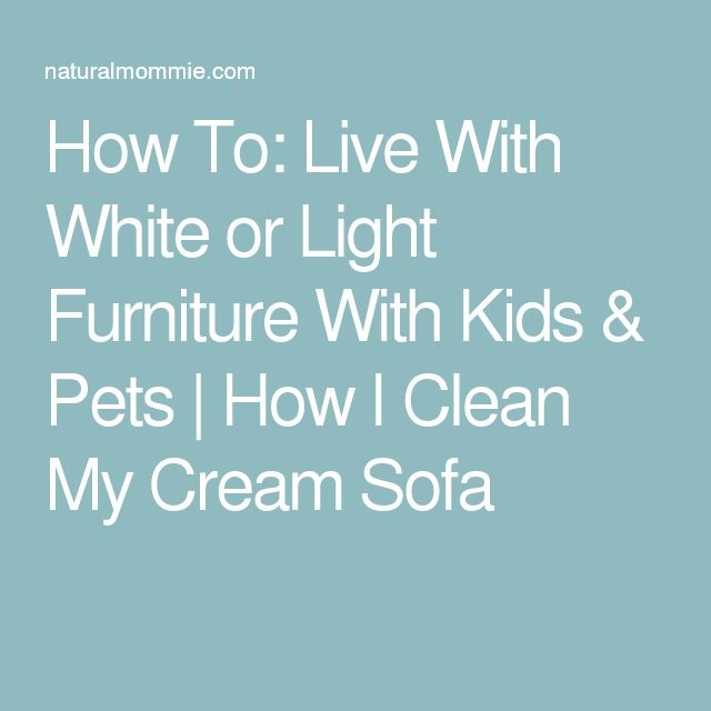 how to clean my sofa