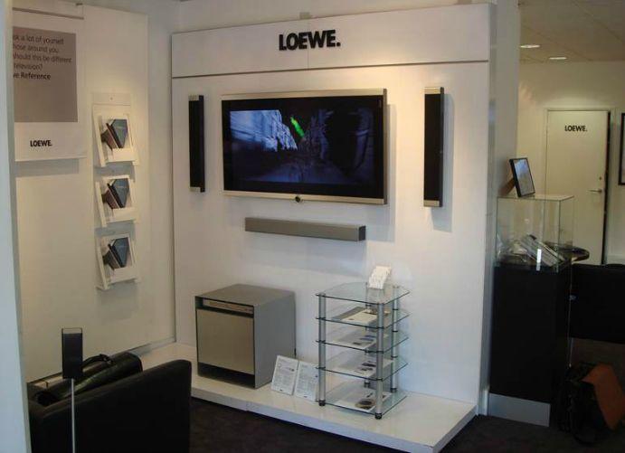 Adglow Loewe store display