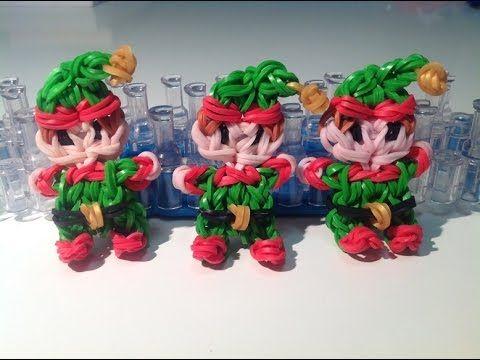 Rainbow loom Nederlands, Kerst Elfje, Original Design