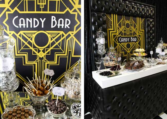 Amazing new Candy Counters are a sweet sensation for receptions!
