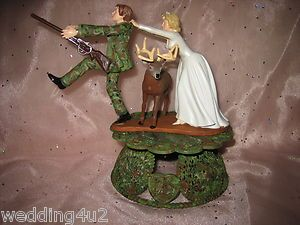 redneck deer fishing hunting wedding cake toppers 467 best camo wedding images on 19131