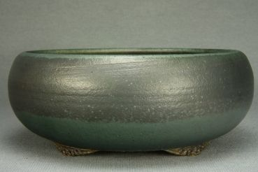 "Ø 20,5 cm / 8.1"" Bonsaischale Bonsai Pot Roman Husmann 6578"