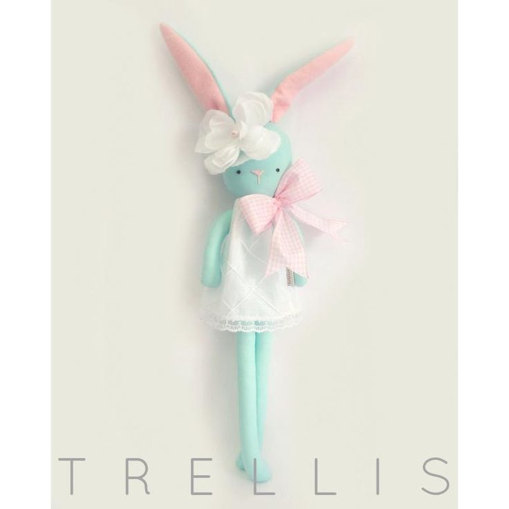 $48 Trellis Bunny...Amelia Jane by TrellisDesign on Handmade Australia