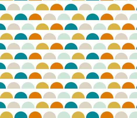Mod Circus fabric by mrshervi on Spoonflower - custom fabric-possible kitchen wallpaper