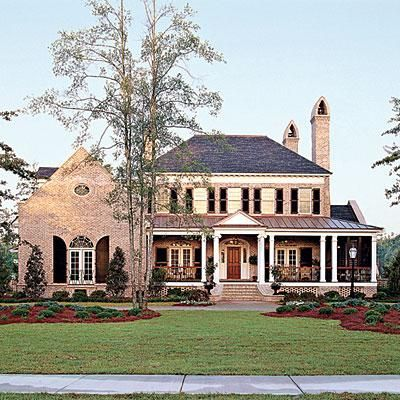 Abberley Lane, Plan #683 | Inside and out, this classical house teems with ideas that reflect the historic charm of traditional, Southern architecture. | SouthernLiving.com
