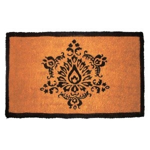 Smith Amp Hawken 174 Door Mat With Black Medalian Design Home