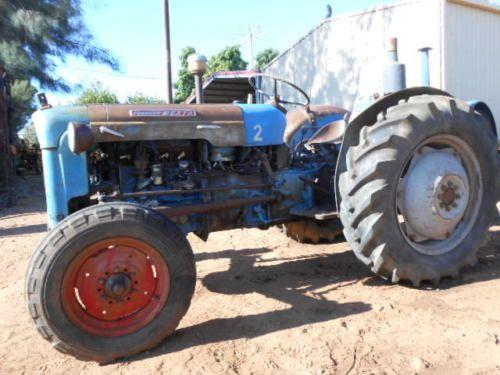 Dexta Tractor Parts : Fordson dexta petrol vintage tractor very collectable