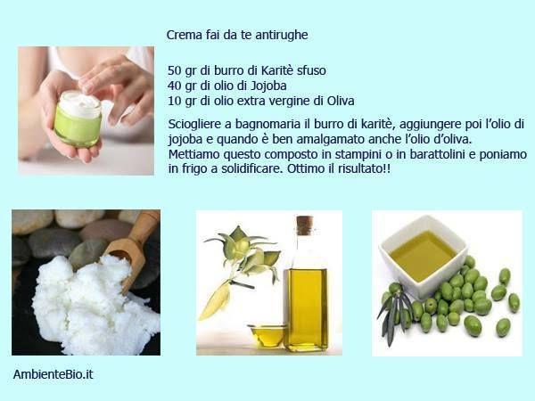 Crema fai da te antirughe