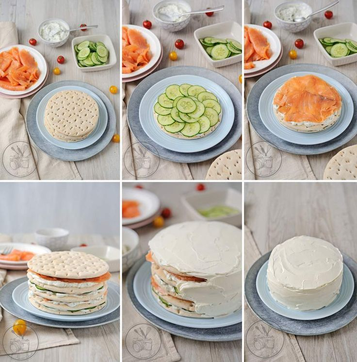 Zijn jullie bekend met de Smörgåstårta?? Deze Zweedse sandwich taart is echt te lekker!
