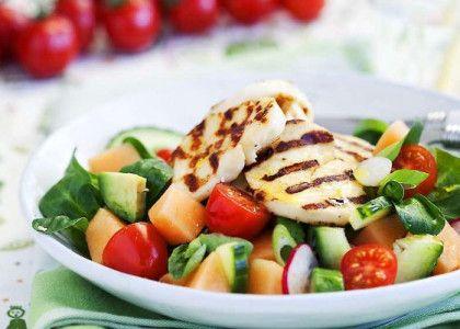 Halloumi med melonsallad | MåBra - Nyttiga recept