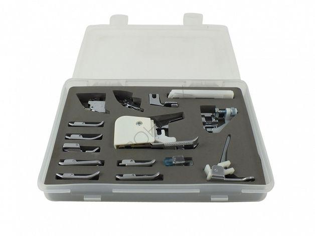 Zestaw stopek do maszyn domowych - 15 części - Pohltex-MaszynyKrawieckie - Maszyny do szycia