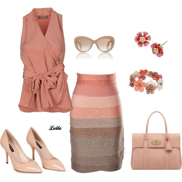 """Multi colour skirt"" by lellelelle on Polyvore"