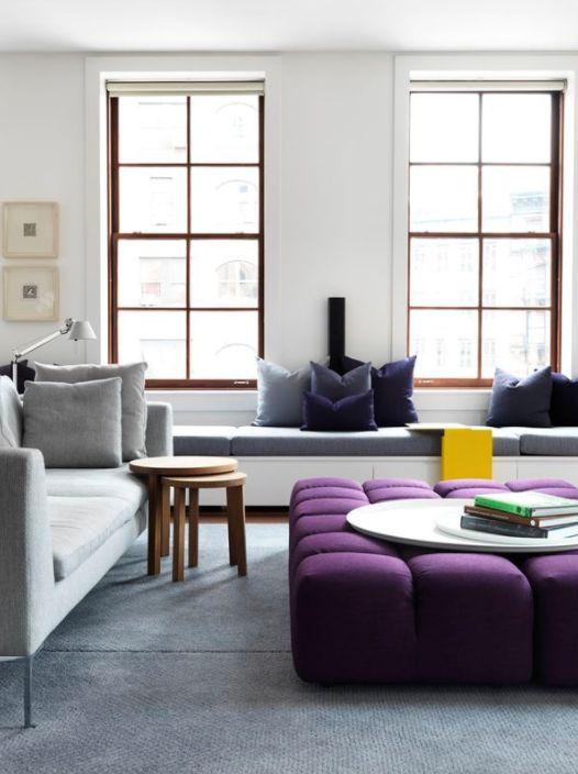 Ultra violet 18 3838 idées déco pour intégrer la couleur 2018 de pantone 18h39 fr