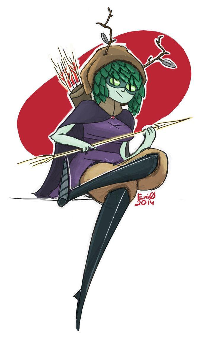 Huntress wizard by Evergreen1661 on deviantART