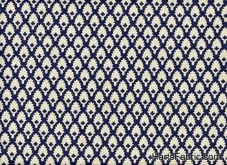 Calais Linen Indigo Upholstery Fabric