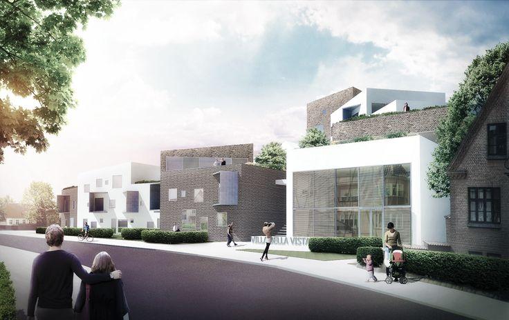 Housing in Silkeborg by aarhus arkitekterne #housing #danisharchitecture #scandinavianarchitecture #villabellaviste #aarhusarkitekterne