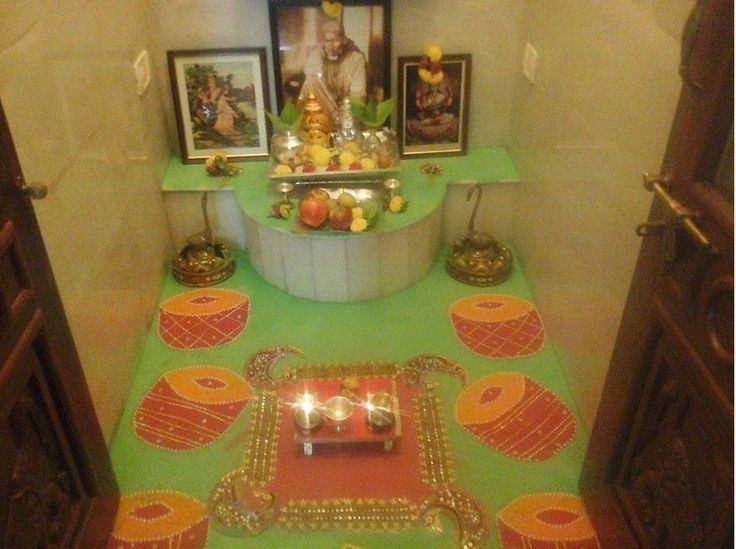 Pooja Room Rangoli Designs Decoration Room And Room Decor