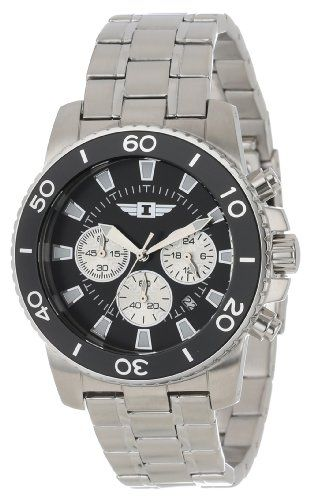 I By Invicta Men's 43619-001 Chronograph Stainless Steel Watch .