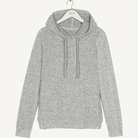 Designed to pair perfectly with our matching Weston Soft Lounge Pants, this hoody is set to become the comfiest piece in your pyjama drawer. It's super soft to touch with a great amount of stretch to keep you snug on unexpected duvet days.