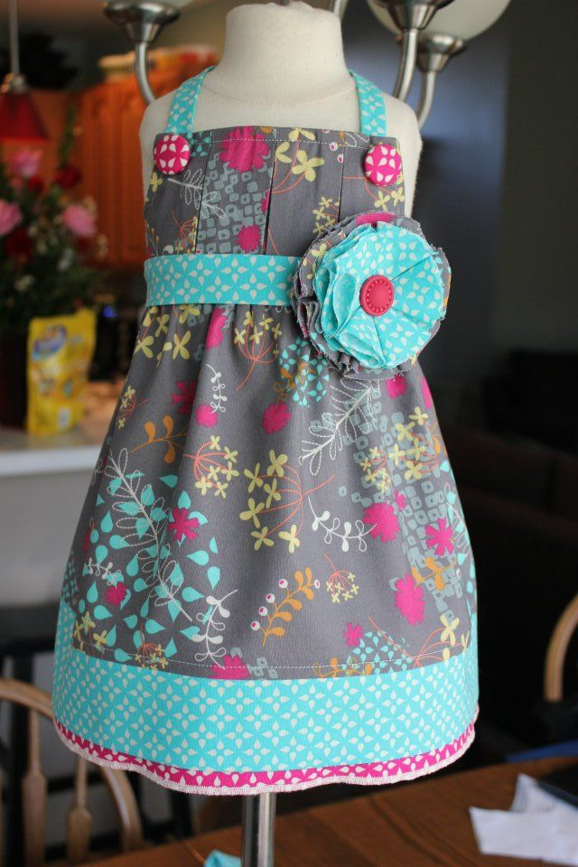 How cute is this dress ????  LOVE: Little Dresses, Summer Dress, Cute Dresses, The Dress, Kids, Sewing Machine