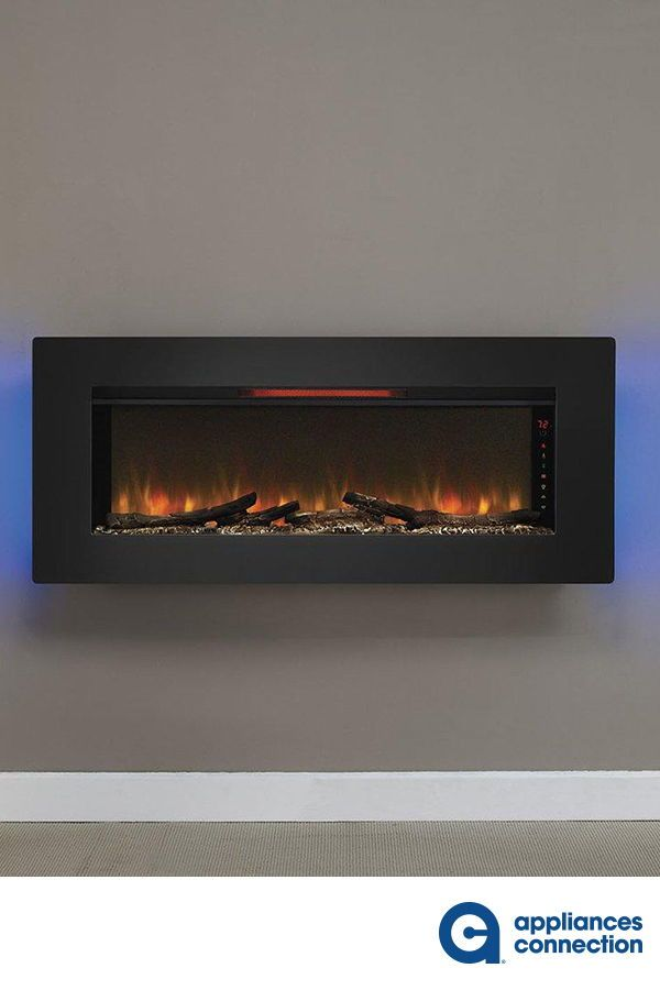 The Felicity Wall Hanging Electric Fireplace Offers Contemporary Appeal While Providing Ample Heating For Your In 2020 Fireplace Apartment Fireplace Electric Fireplace