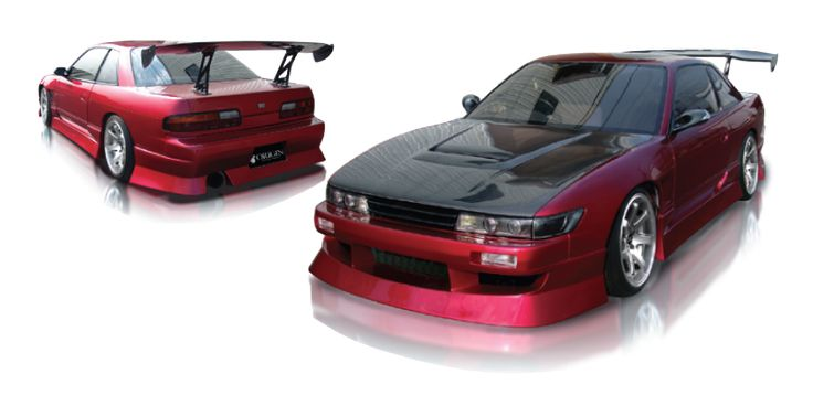 Origin Labo. NISSAN SILVIA S13 AGGRESSIVE ( JDM SILVIA FRONT WITH COUPE TRUNK ONLY) - FRONT BUMPER