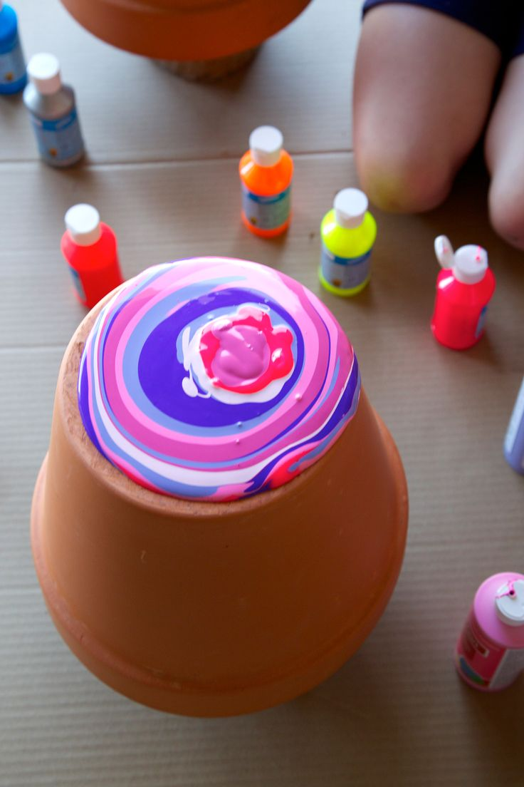 Holly's Arts and Crafts Corner: Craft Project: Beautifying Our Yard in a Creative Way